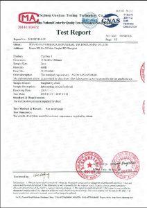 A453 660B üçün sertifikat