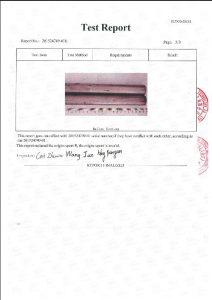 A453 660B 3 üçün sertifikat