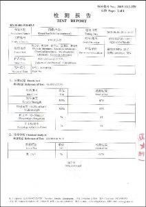 S32750 üçün sertifikat