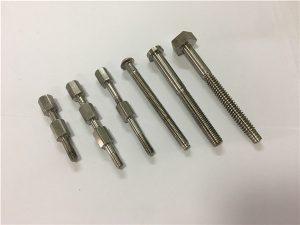 №41-CNC titan maşın hissəsi bolt və qoz