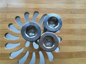 yüksək keyfiyyətli ASEM hex soket titan gr2 vida / bolt / qoz / yuyucu /