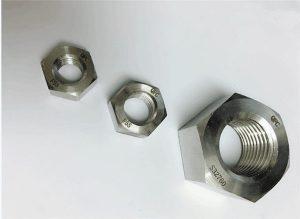 Duplex 2205 / F55 / 1.4501 / S32760 paslanmayan poladdan bərkidici ağır hex qoz M20